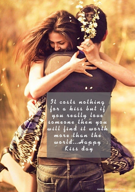 Happy Kiss Day Quotes Wishes