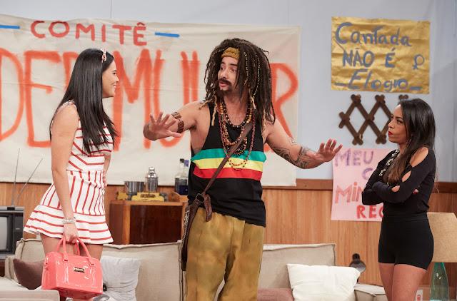 """Marco Luque interpreta o personagem Mustafary no episódio de hoje em """"Vai Que Cola"""""""