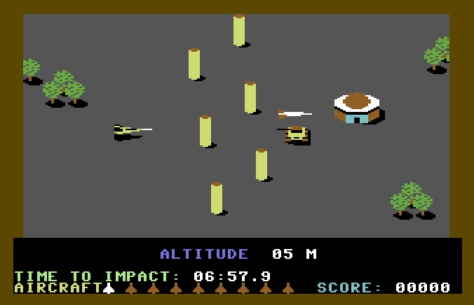 Raid over Moscow - Commodore 64
