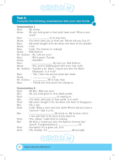 Pembahasan Soal Bahasa Inggris Kelas 10 Chapter 2 Task 2 Halaman 28