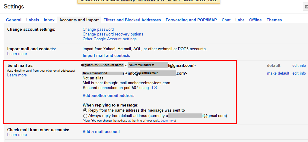 how to create another gmail email address