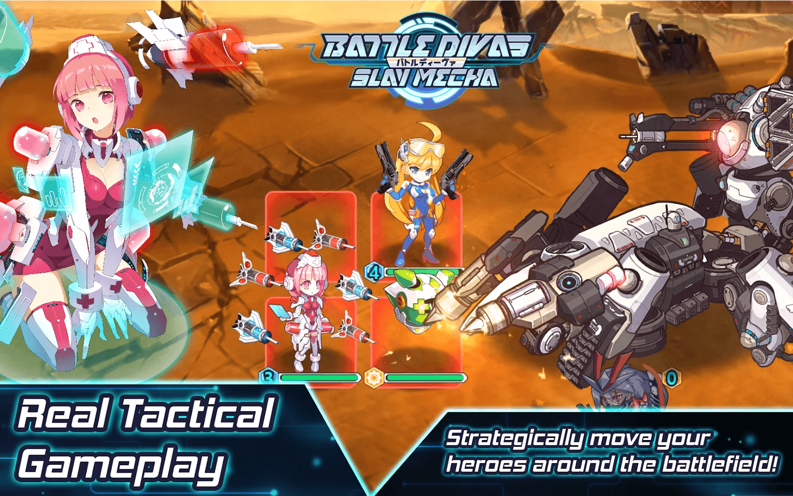 Battle Divas: Slay Mecha global server