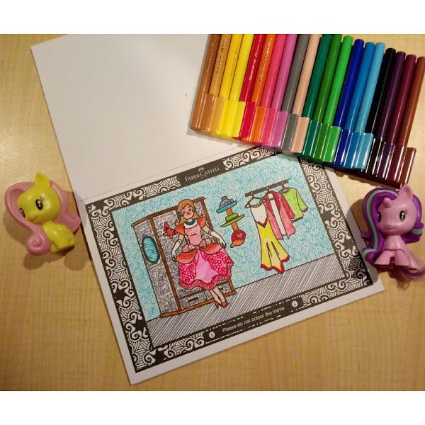 Serunya Mewarnai dan Bermain Games di Faber Castell Colour to Life