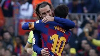 Griezmann: Messi and I are enjoying playing together