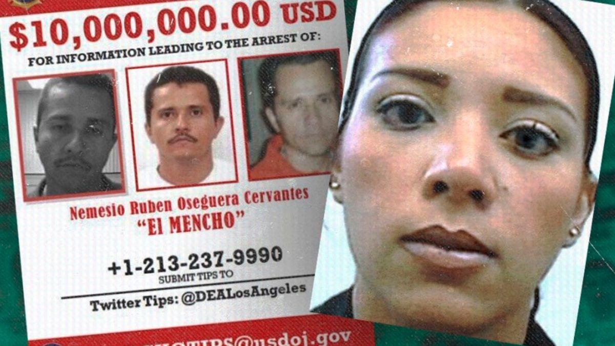 "Jessica Johana Oseguera González Alias ""La Negra"", hija de ""El Mencho"", comparece en Corte de Washington DC"