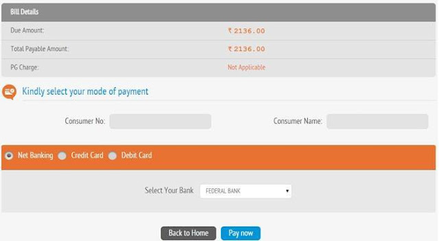 KSEB Online Bill Payment Modes
