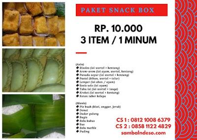 snack box murah di daerah ciputat kota tangerang selatan