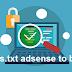 كيفية تفعيل Ads.txt على بلوجر how i can add ads txt adsense to blogger