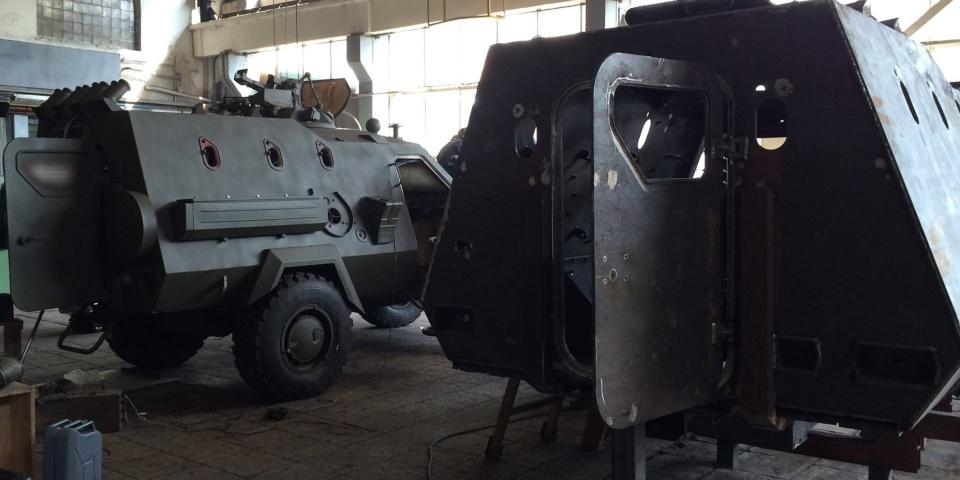 The Dozor-B burned randomly in the tests in Kharkiv