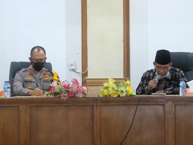Kapolda Jambi Silaturahmi Bersama Ketua dan Pengurus Majelis Ulama Indonesia Provinsi Jambi
