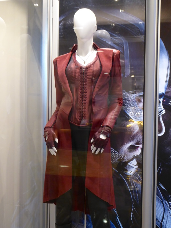 Captain America Civil War Scarlet Witch film costume