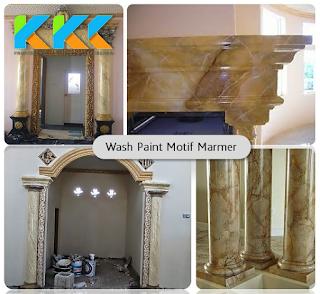 Cat wash atau sebagian bilang wash paint merupakan seni cat dekoratif yang mempunyai motif Jasa Motif Cat Wash Dinding, Pilar, Dan Plafon