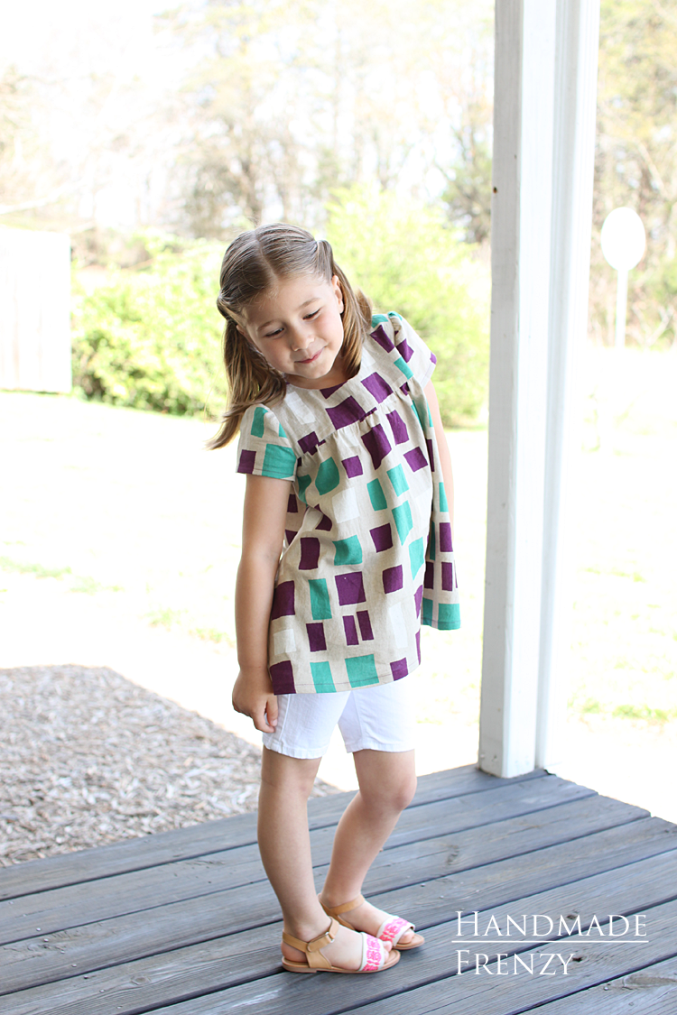 Ania Tunic // Sewing For Girls