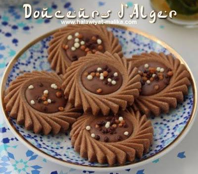 صابلي الطابع بالشوكولاتة