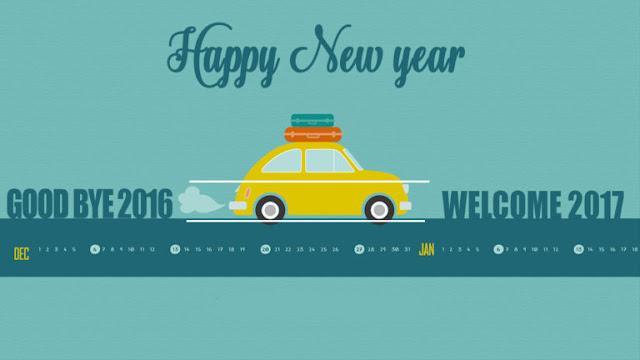 GoodBye 2016 Welcome Happy New Year 2017