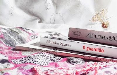"""Resenha do livro thriler policial e romance de Nicholas Sparks de """"O guardião"""""""