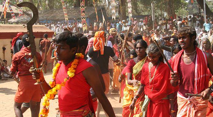 Kodungallur bharani, Sri Kurumba Bhagavathy Temple