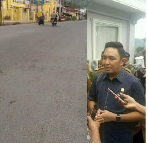 Ketua DPRD Fikar Azami Minta Rekanan Kerjakan Kualitas Terbaik Jalur TDS