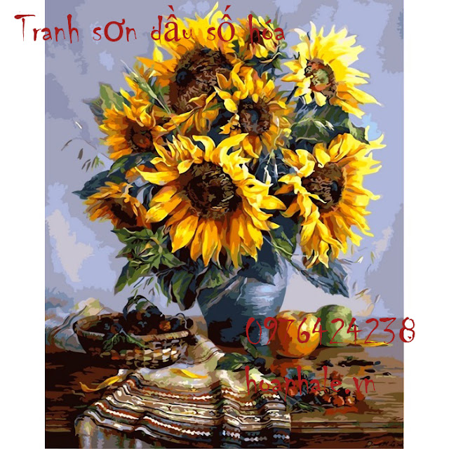 Tranh son dau so hoa o Huyen Quoc Oai