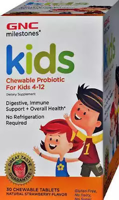 pareri GNC Milestones KIDS Chewable Probiotic pentru copii 4-12 ani