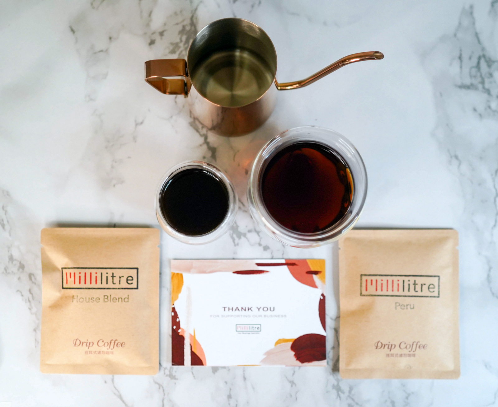 Millilitre: Delicious drip bag coffee to take anywhere, make in three minutes