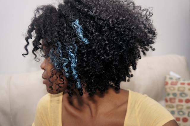 Blue Highlights Anyone Curlynikki Natural Hair Care