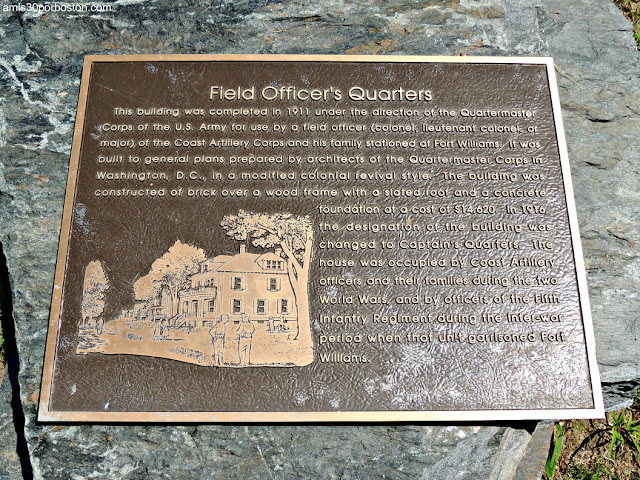 Field Officers Quarters en el Fuerte Williams