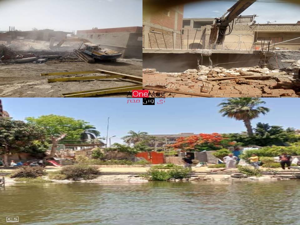جرائم البناءعلى نهر النيل ..نيابه عسكريه.. إزالة ٤٨٤ حالة تعدي على نهر النيل فى ١٦محافظة
