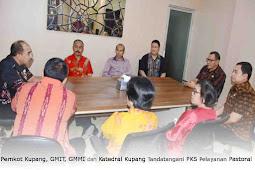Pemkot Kupang, GMIT, GMMI dan Katedral Kupang Tandatangani PKS Pelayanan Pastoral