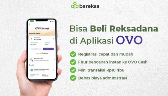 cara daftar OVO invest by Bareksa