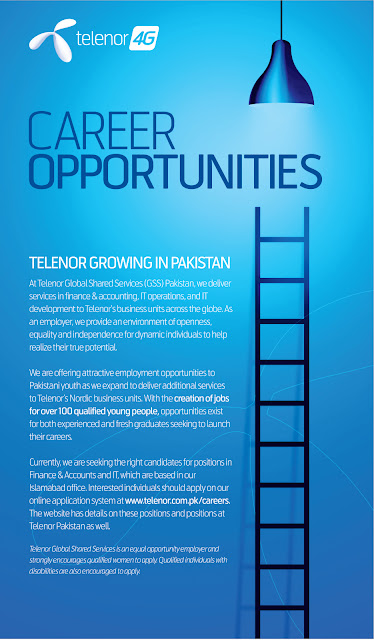 Jobs in Telenor Pakistan