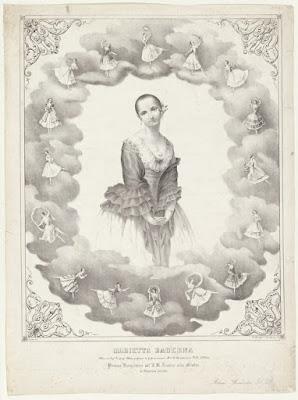 Cartaz de apresentação de Maria Baderna. A origem da palavra baderna