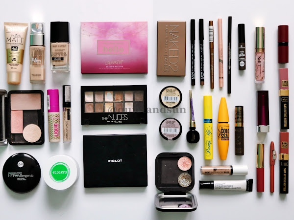 Inwentaryzacja kolorówki, czyli moje wszystkie kosmetyki do makijażu (2021)