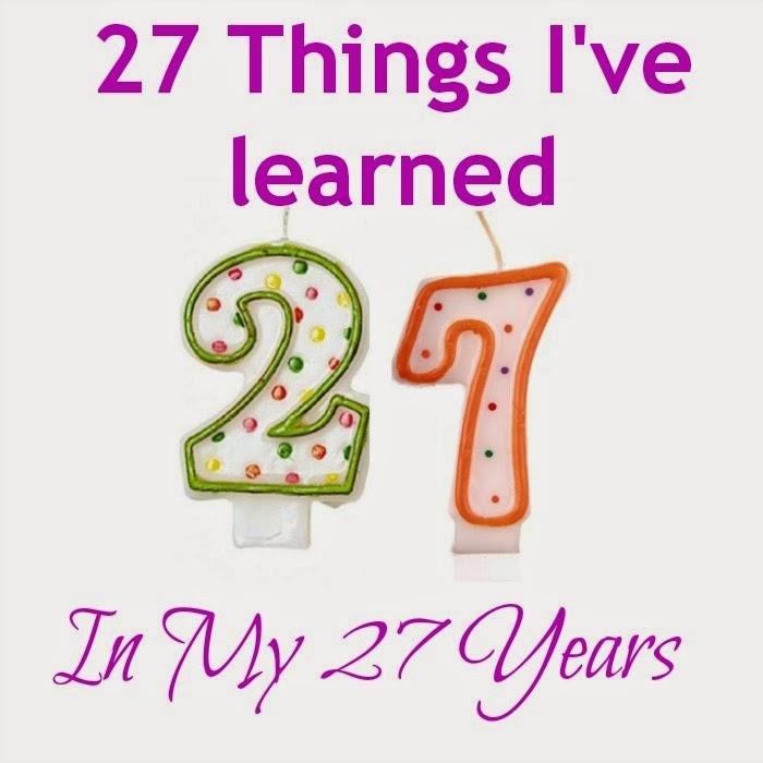 Verjaardagsteksten Verjaardagsteksten 27 Jaar