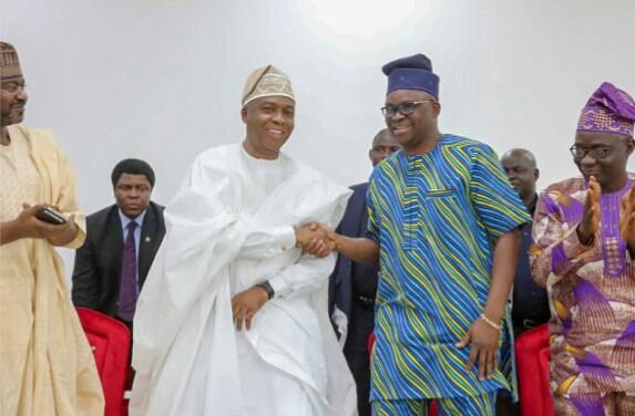PHOTOS: Saraki Visits Governor Fayose