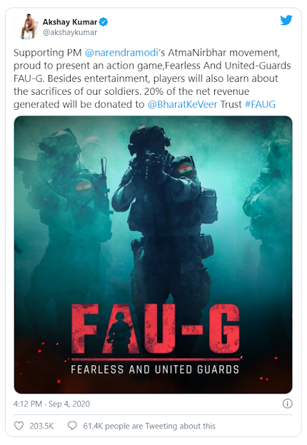 FAU:G: Indian alternative to PUBG Mobile announced after PUBG ban