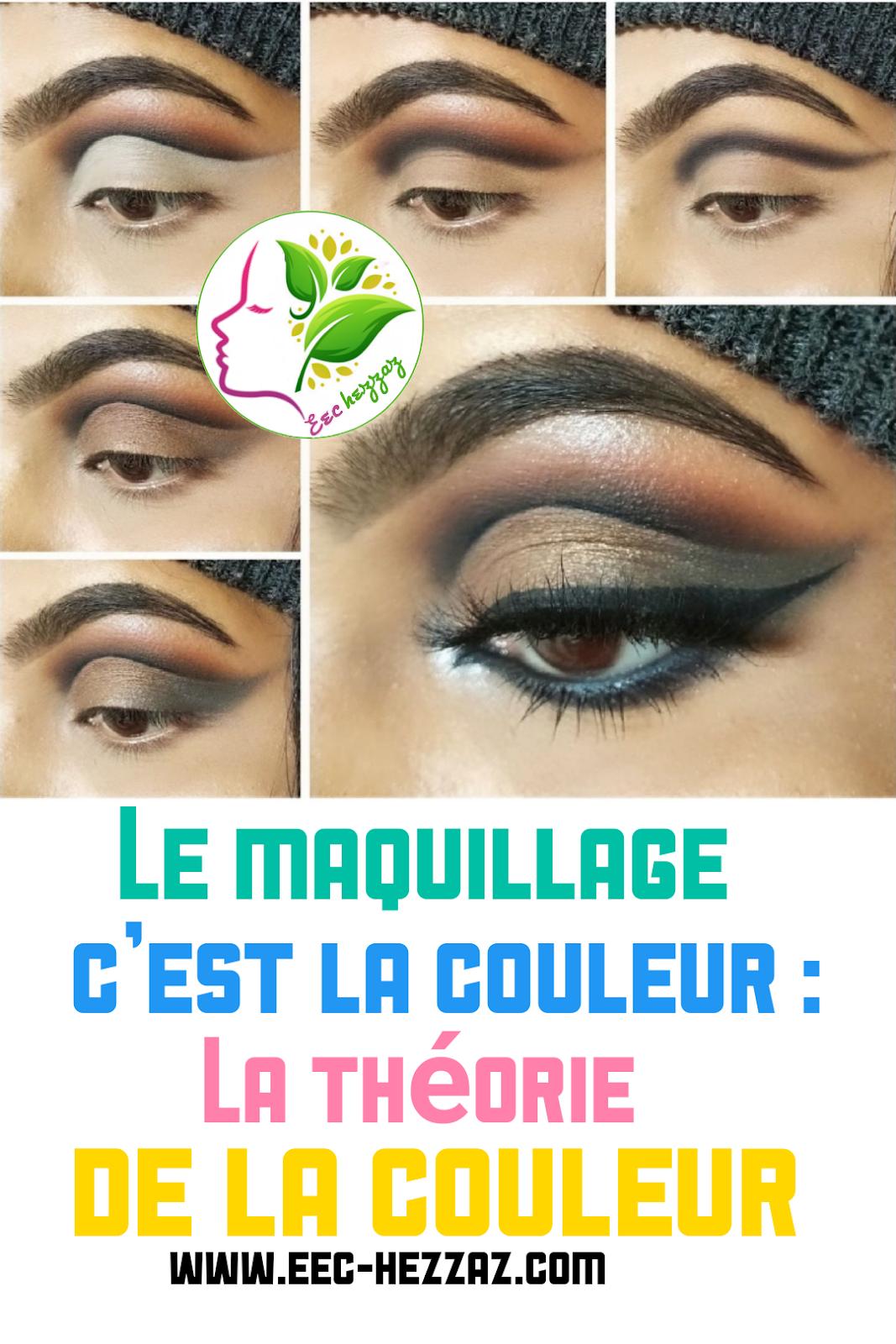 Le maquillage c'est la couleur : La théorie de la couleur