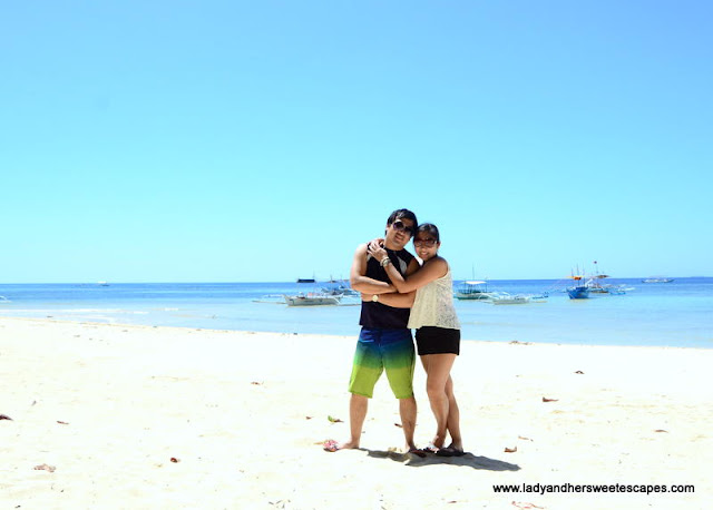 Ed and Lady in Sipalay