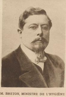 Jules-Louis Breton, ministre de l'Hygiène