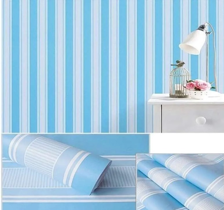 1 Roll Wallpaper Dinding Berapa Meter