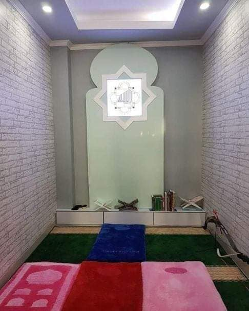 ركن الصلاة, مكان للصلاة في المنزل, ركنة صلاة, أشكال جديدة لركن صلاة, مكان صغير للصلاة في المنزل
