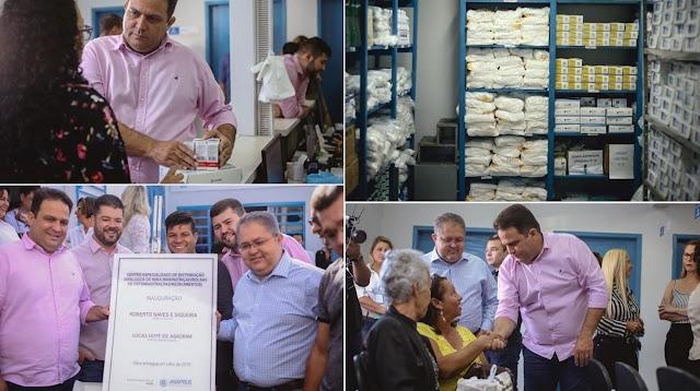 Anápolis: Centro de Distribuição de insumos e medicamentos é inaugurado
