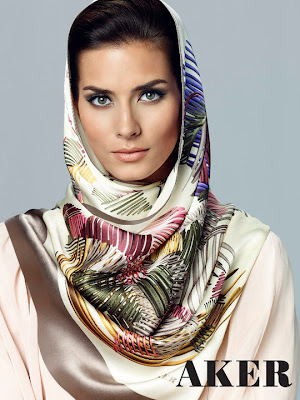Silk Head Scarf