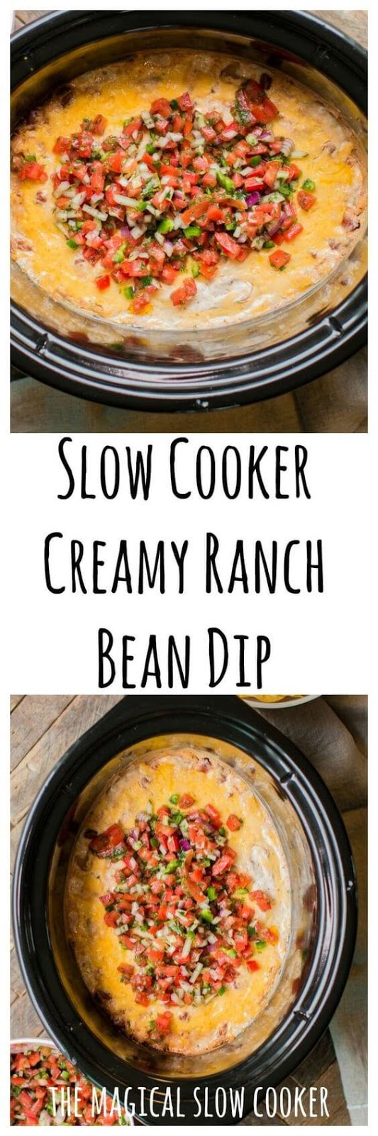 Slow Cooker Creamy Ranch Dip