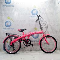 20 evergreen sepeda lipat folding bike
