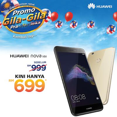 Huawei Nova Lite Malaysia Price Lazada Discount Offer Promo