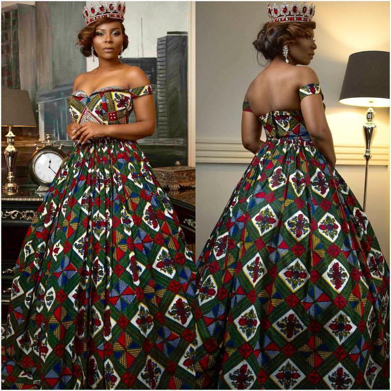 African styles gallery: THESE WEDDING GOWNS WERE INSPIRED BY ANKARA