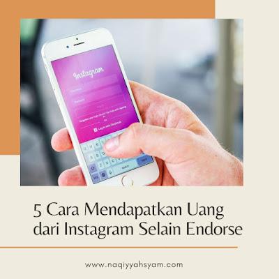cara dapat uang dari instagram