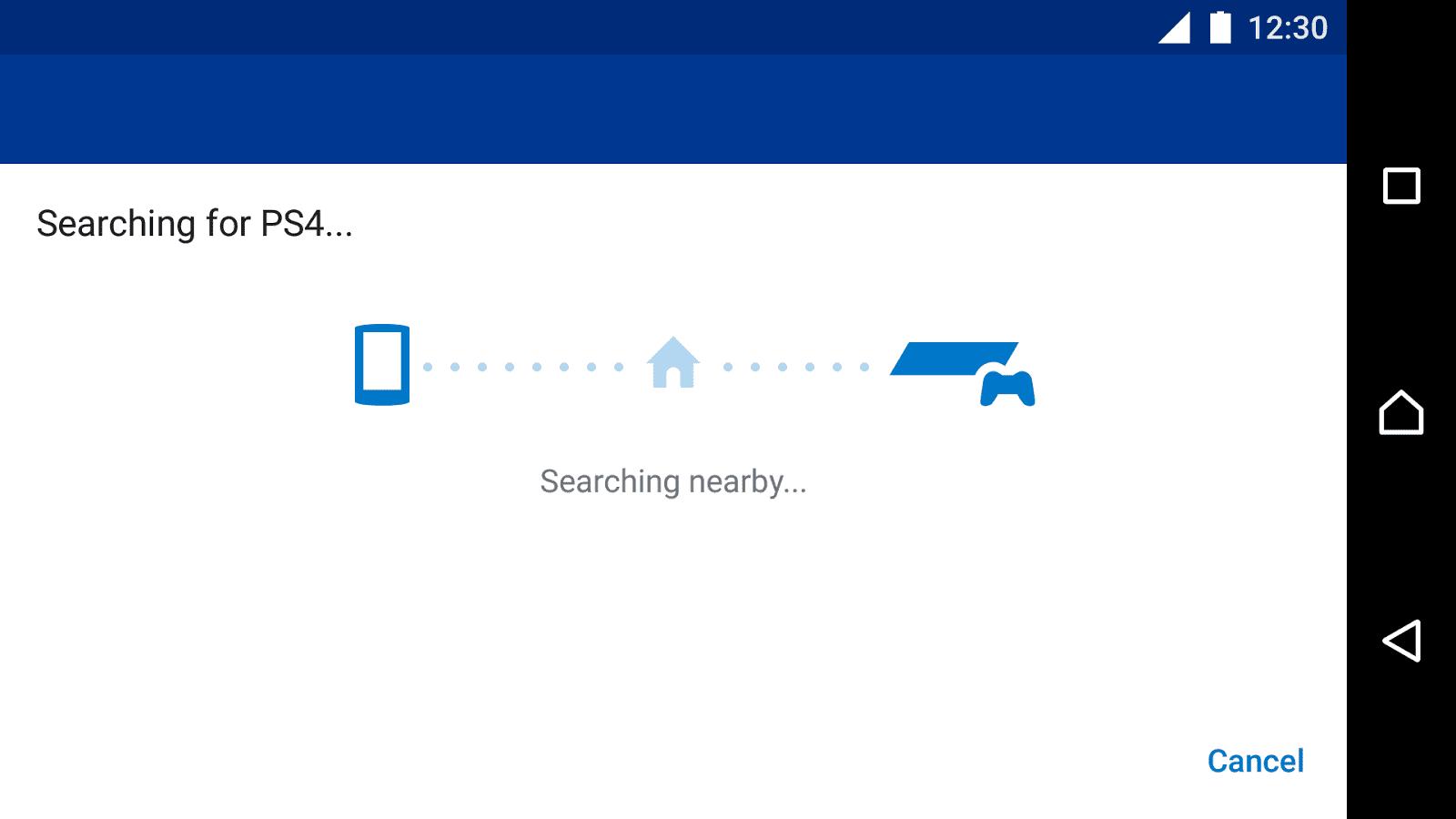 تطبيق PS4 Remote Play للأندرويد 2019 - صورة لقطة شاشة (4)