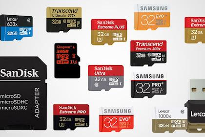 7 Kelebihan Menggunakan Memory Card